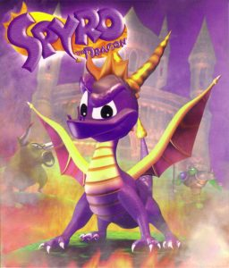 playing spyro the dragon
