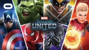 marvels powers united vr