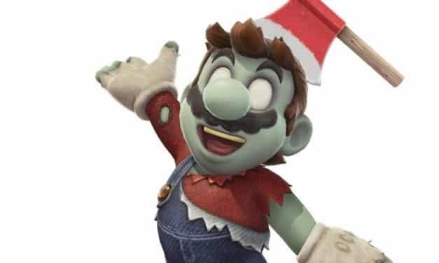 Zombie Mario Comes To Super Mario Odyssey