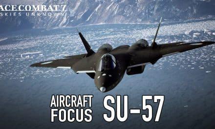 Ace Combat 7: Skies Unknown Su-57 Trailer