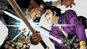Travis Strikes Again: No More Heroes Coffee and Doughnuts Trailer