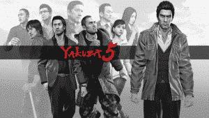 Yakuza 5 PS4